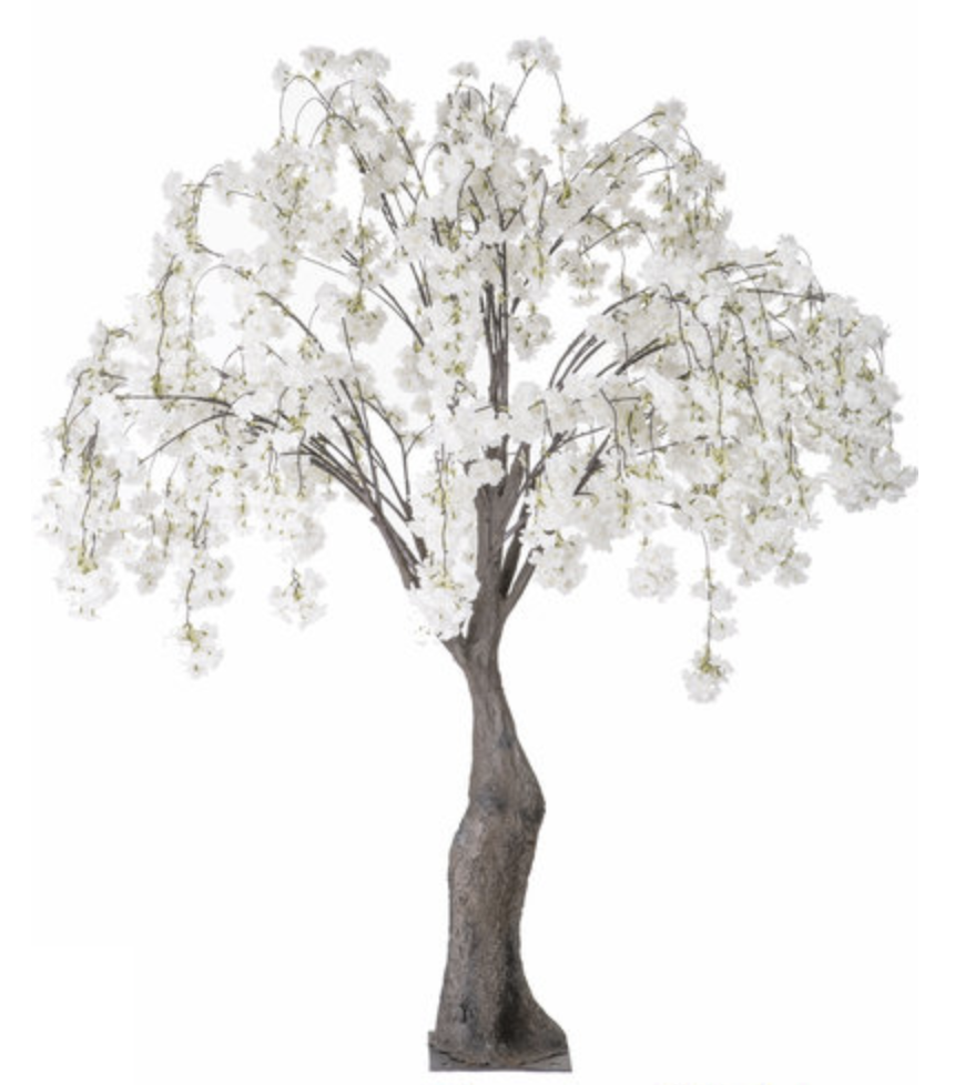 decorated trees for weddings