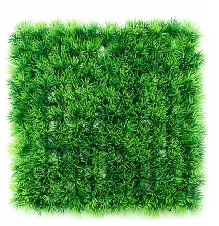 green landscape wall with natural looking grass for rent for corporate events and store openings